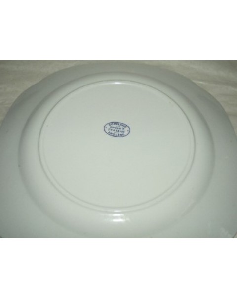 (OUT OF STOCK) COPELAND SPODE VINTAGE BLUE ITALIAN CAKE STAND